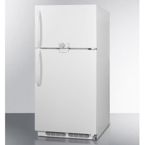 Summit CTR15LLF2 Adjustable Shelves Frost-free Refrigerator-freezer