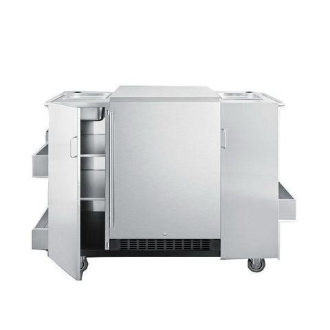 Summit CartOSRF Weatherproof Design Outdoor Refrigeration