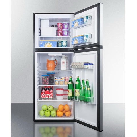 Summit FF1376SSIM Adjustable Thermostat Frost-free Refrigerator-freezer