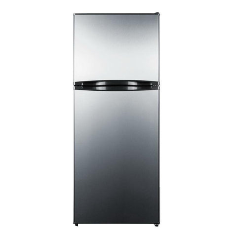Summit  FF1376SS Adjustable Thermostat frost-free Refrigerator-freezer