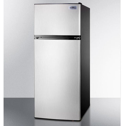 Summit FF1159SS Energy Star Qualified Performance Two-door Refrigerator-freezer