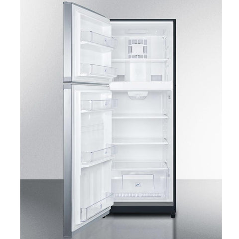 Summit FF1423SSLH Counter Depth Refrigerator-freezer