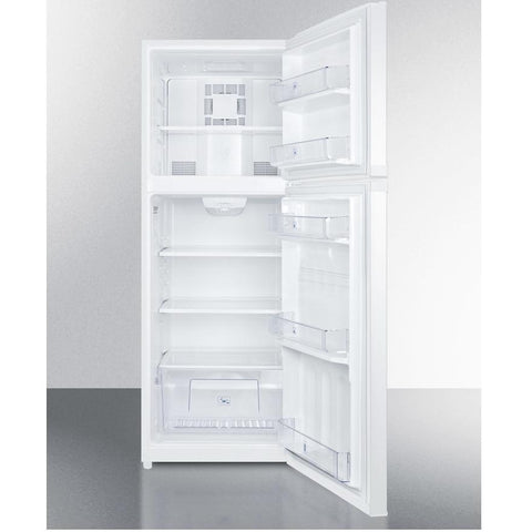 Summit FF1427W Full Freezer Shelf Refrigerator