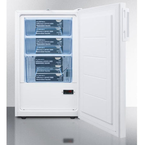 Summit FF511LBIVACADA Medical and Lab Refrigerator