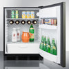 Image of Summit FF63BBIKSHH Automatic Defrost Built-In Undercounter