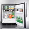 Image of Summit FF63BBISSHVADA Automatic Defrost Built-In Undercounter
