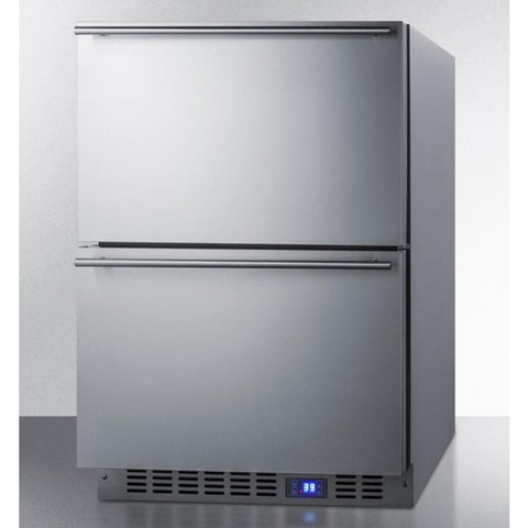 Summit FF642D Two-drawer All-refrigerator