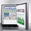Image of Summit FF6BBI7IF Automatic Defrost Built-In Undercounter