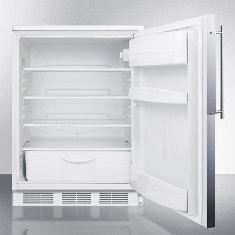 Summit FF6BIFR Automatic Defrost Built-In Undercounter