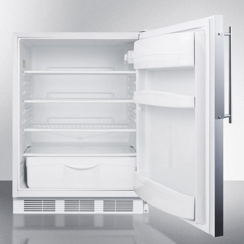 Summit FF6LBI7FRADA Automatic Defrost Built-In Undercounter