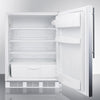 Image of Summit FF6BISSHVADA Automatic Defrost Built-In Undercounter