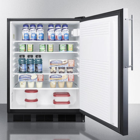 Summit AL752BBIFR Automatic Defrost Built-In Undercounter
