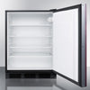 Image of Summit AL752BBIIF Flexible Design Built-In Undercounter