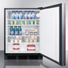 Image of Summit FF7BBIIF Automatic Defrost Built-In Undercounter