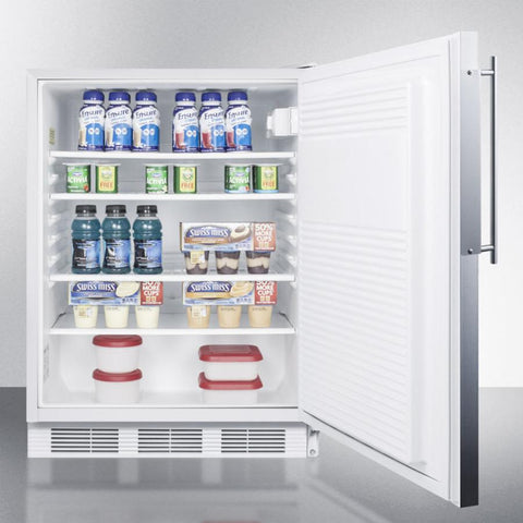Summit AL750BIFR Automatic Defrost Built-In Undercounter