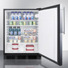 Image of Summit AL752LBLBIFR Flexible Design Built-In Undercounter