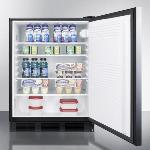 Summit AL752LBLBISSHH Automatic Defrost Built-In Undercounter