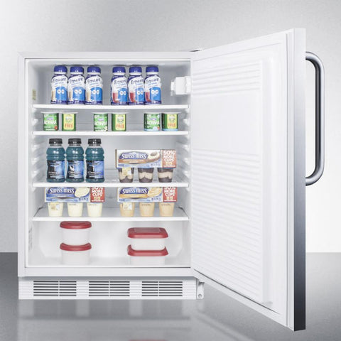 Summit FF7LBISSTBADA Automatic Defrost Built-In Undercounter