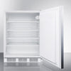 Image of Summit AL750BISSHH Hidden Evaporator Built-In Undercounter