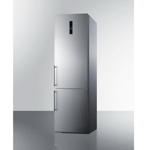 Summit FFBF181ES Stainless Steel Doors And An ENERGY STAR Certified Performance