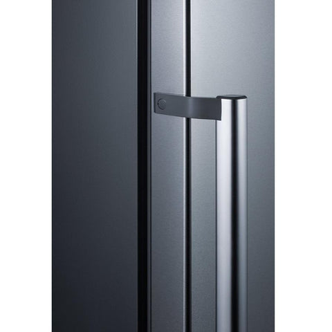 Summit FFBF192SS Fingerprint-Resistant Doors Of Stainless Steel