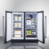 Image of Summit FFRF3070BSS Flexible Design Built-In Undercounter