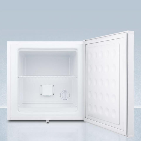 Summit FS24LMED Removable Shelf Compact Freezer