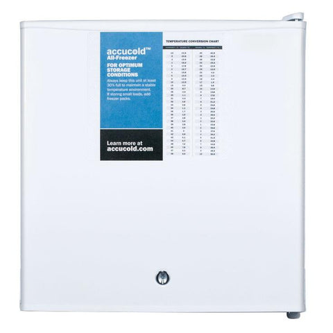 Summit FS24LPRO Adjustable Thermostat Compact Freezer