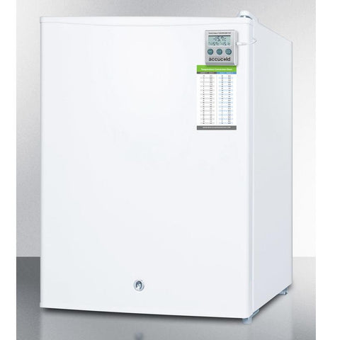 Summit FS30L7MED Adjustable Thermostat Compact Freezer