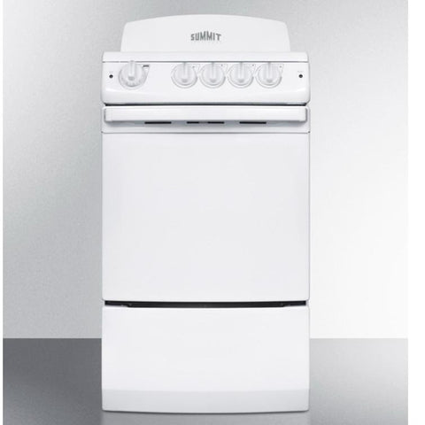 Summit RE201W Outstanding Value Electric Range