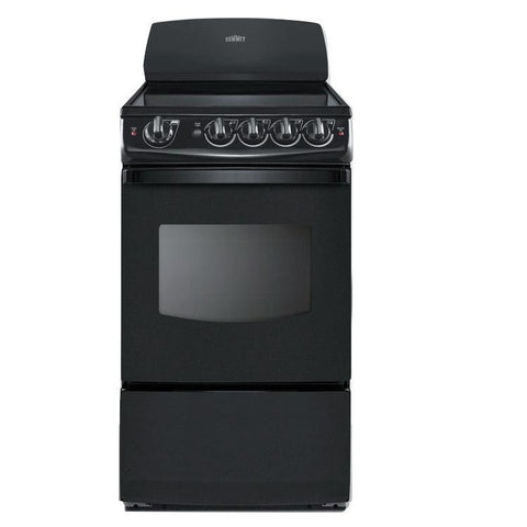 Summit REX206B Safer and Cleaner Electric Range