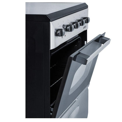 Summit REX208SS Slim-fitting Electric Range