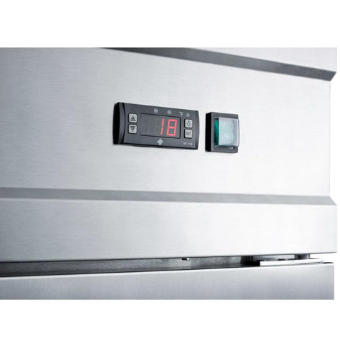 Summit SCFF496 Digital Thermostat Freezer
