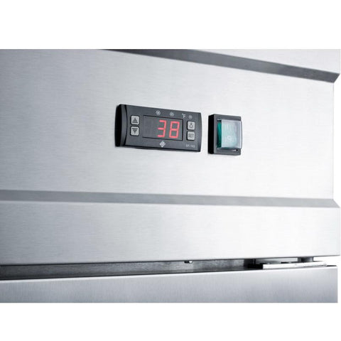 Summit SCRR231 Digital Thermostat Refrigerator