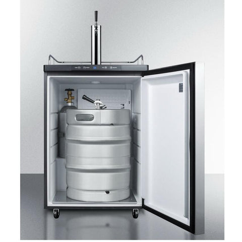 Summit SBC635M7SSHH Automatic Defrost Full-size Beer Dispenser