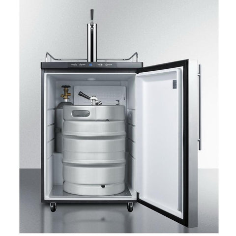 Summit SBC635M7SSHV Automatic Defrost Full-sized Beer Dispenser