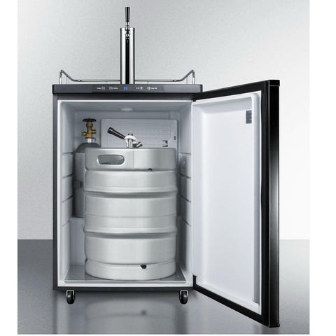Summit SBC635MBI7 Automatic Defrost Full-sized Beer Dispenser