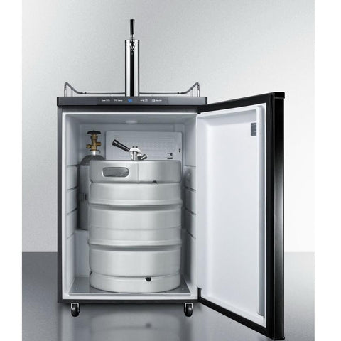 Summit SBC635M7 Automatic Defrost Full-sized Beer Dispenser