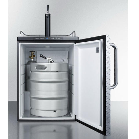 Summit SBC635MBIDPL Automatic Defrost Full-sized Beer Dispenser