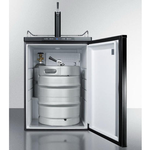 Summit SBC635MBI Automatic Defrost Full-sized Beer Dispenser