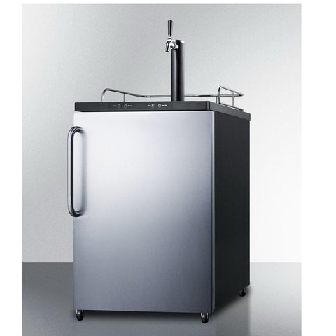 Summit SBC635MBISSTB Automatic Defrost Full-sized Beer Dispenser