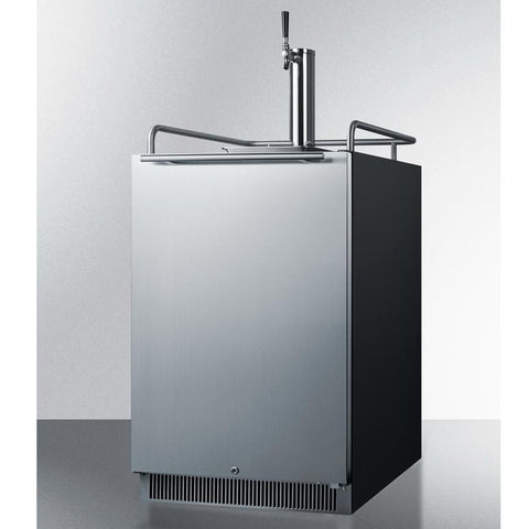 Summit SBC677BI Flexible Design Full-sized Beer Dispenser