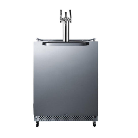 Summit SBC695OSTRIPLE Flexible Design Full-sized Beer Dispenser