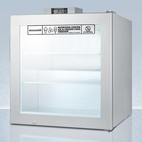 Summit SCFU386NZ Versatile Display Compact Freezer