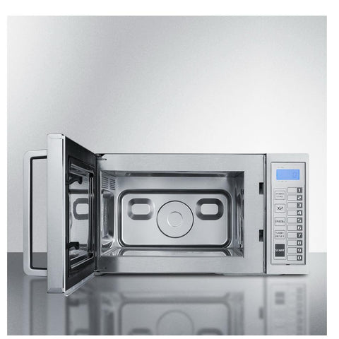 Summit SCM1000SS Complete Stainless Steel Microwave Oven
