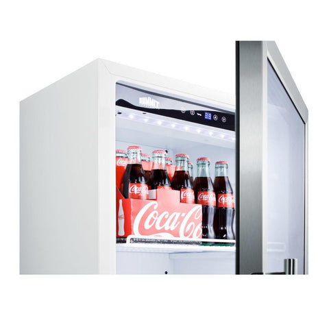 Summit SCR1006  Slim-fitting Beverage Refrigerator