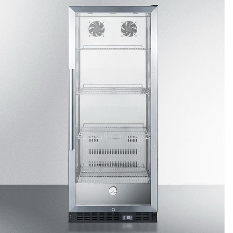 Summit SCR1156CSS Energy Star Certified Commercial Refrigerator
