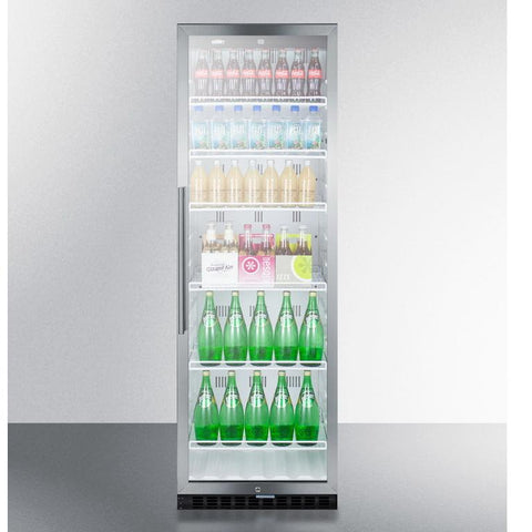 Summit SCR1400WCSS Durable Service Beverage Refrigerator