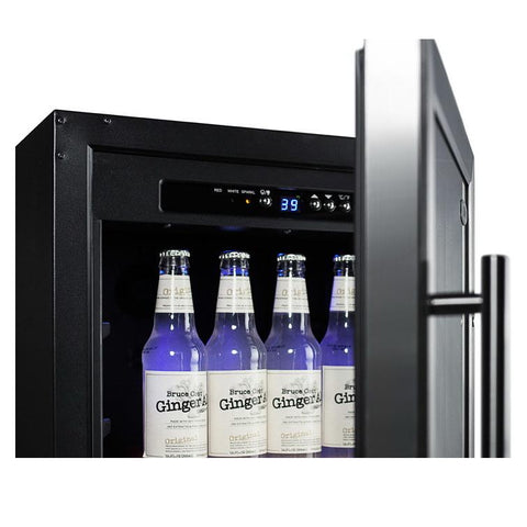 Summit SCR1841BADA User-friendly Convenience Beverage Refrigerator