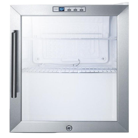 Summit SCR215L User-friendly Features and Convenience Refrigerator